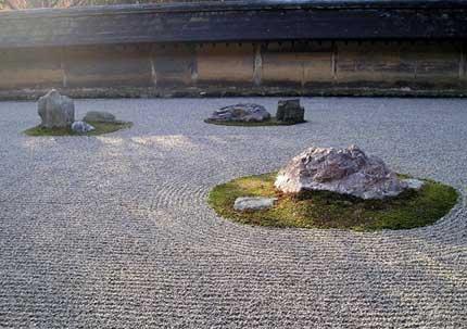 Giardino zen giardino secco karesansui giardinieri for Laghetti per tartarughe usati