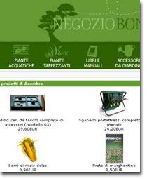 Sementi online tutte le offerte cascare a fagiolo for Comprare bonsai online