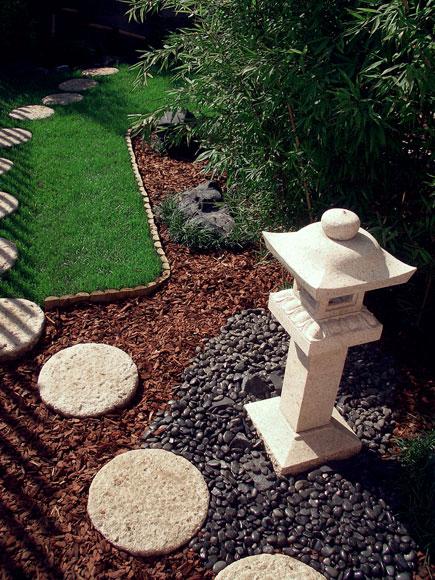 Esempi di giardini realizzati da zr giardinaggio - Giardini zen da esterno ...