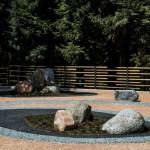 giardino giapponese zen roccioso